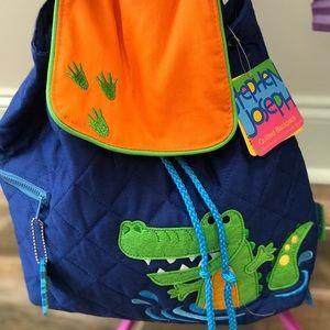 Stephen Joseph Crocodile Backpack